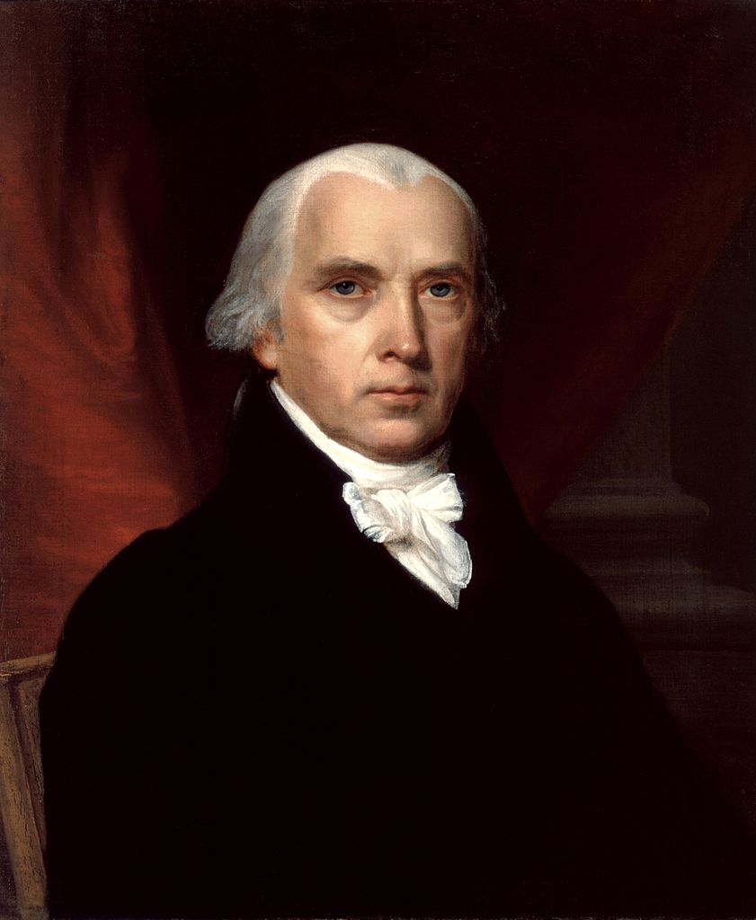 Portrait of James Madison,