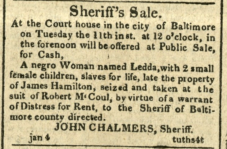 Sherriff's Sale