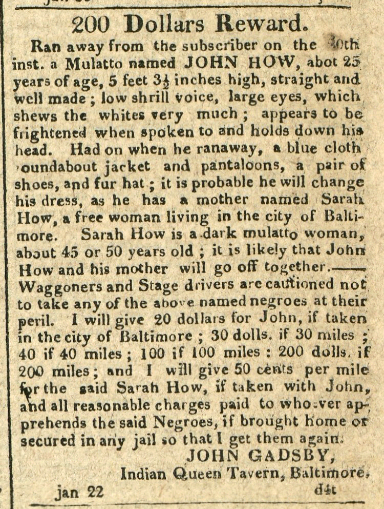 American and Commercial Daily Advertiser, January 22, 1814
