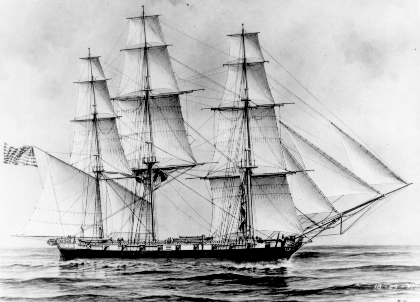 USS Erie, American sloop-of-war