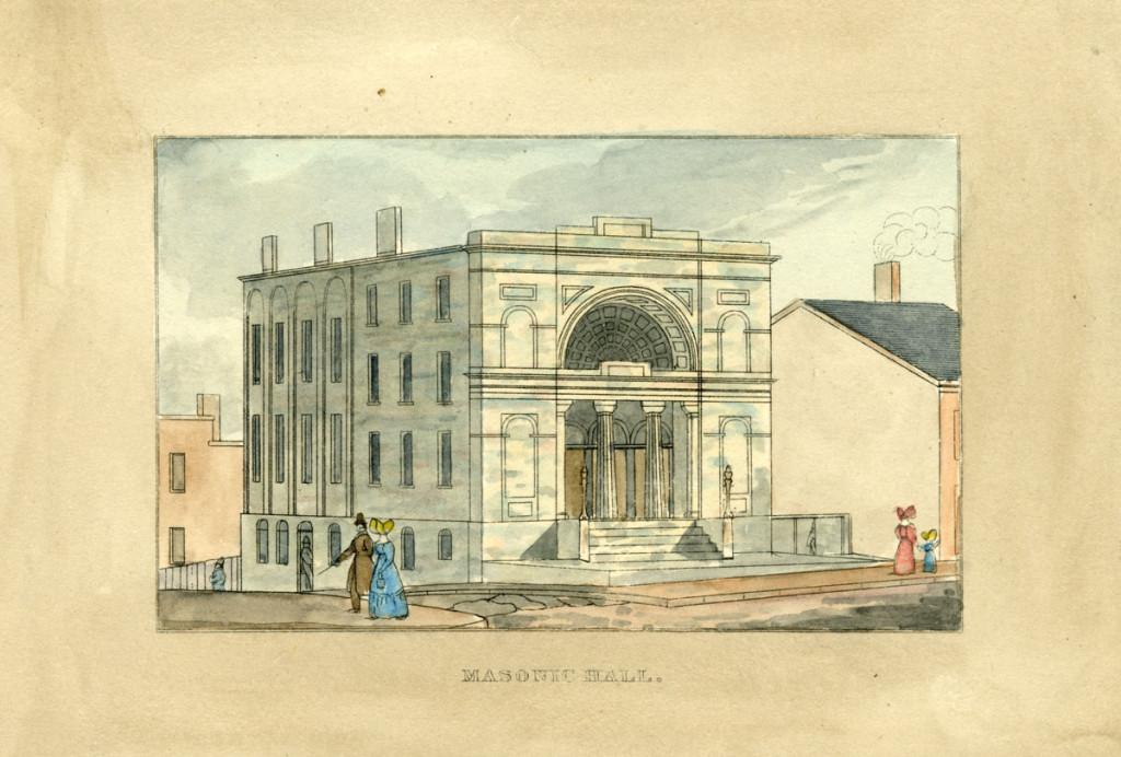 Masonic Hall, 1832