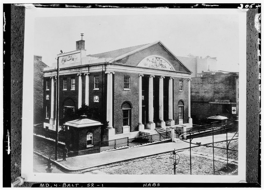 National Union Bank Building, Fayette & Charles Streets