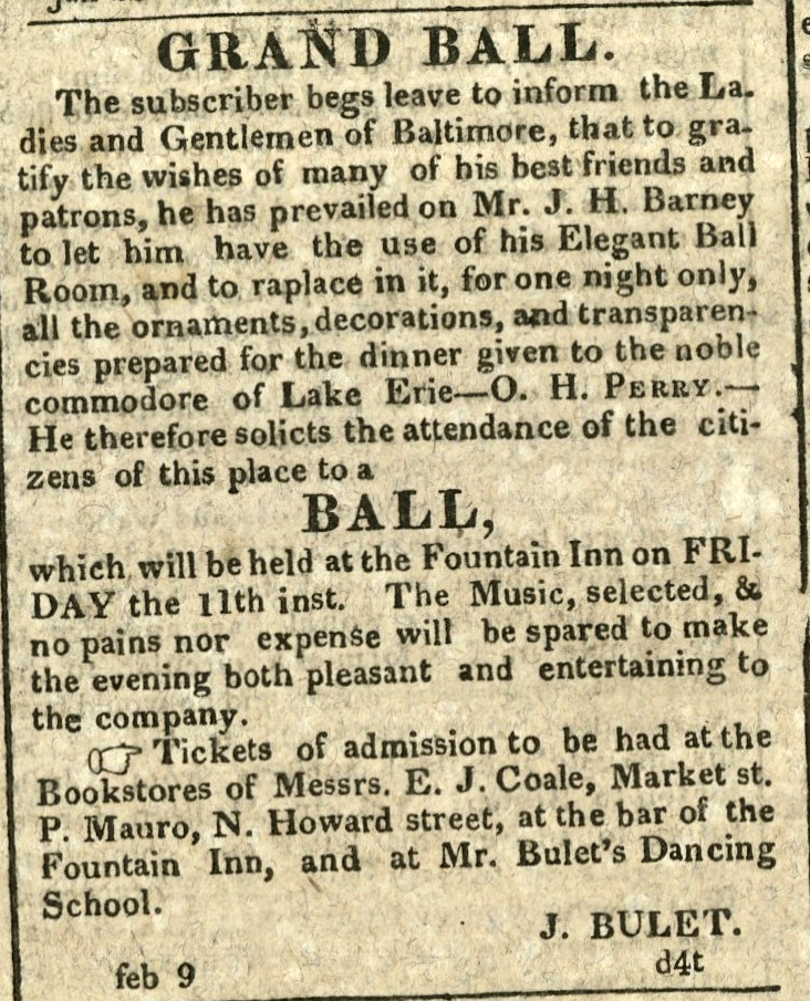 American Commercial and Daily Advertiser, February 9, 1814