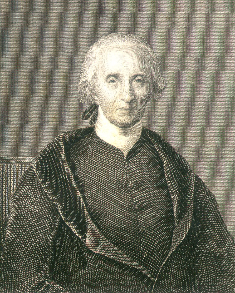 "Engraving of ""Charles Carroll of Carrollton"""