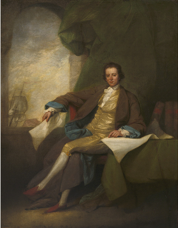 Samuel Blodget Jr., Portrait by John Trumbull, c. 1784. Courtesy the National Portrait Gallery, NPG.2013.29.