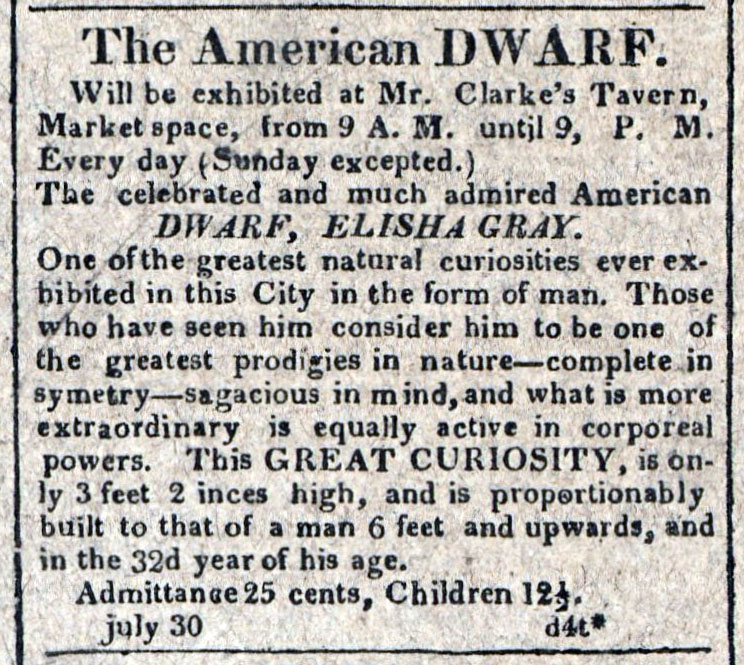 American Commercial and Daily Advertiser, July 30, 1814. Maryland State Archives SC3392
